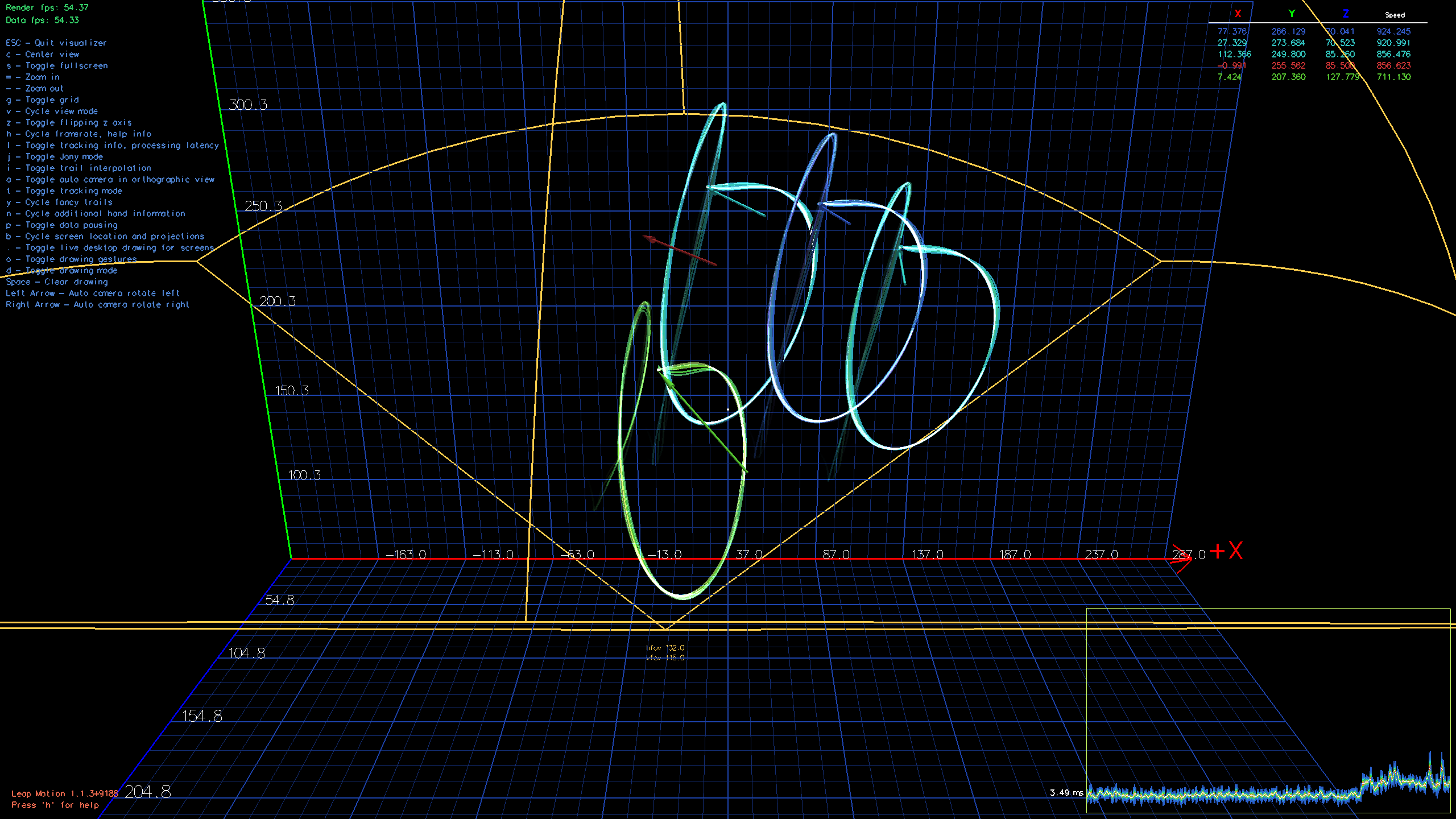Leap Motion: Try the Diagnostic Visualizer